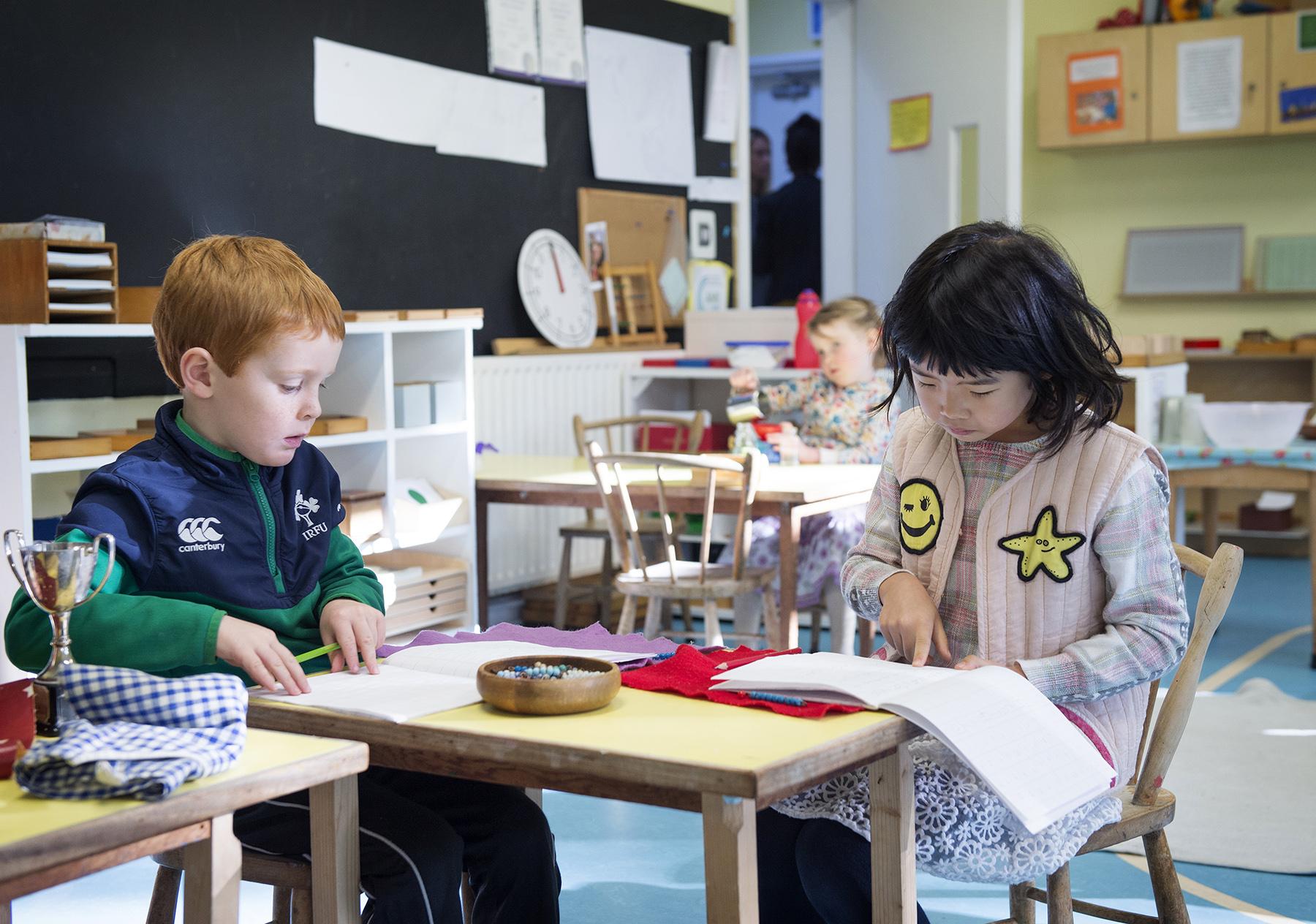 Montessori Primary School ages 3 to 6
